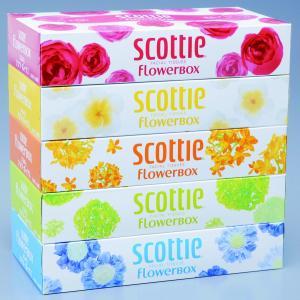 スコッティ「フラワー」160W×5P  ご注文は、10個以上でお願いします。10個以上は端数可能です...