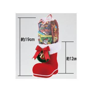 クリスマスブーツ(中)お菓子入 ご注文は、50個以上でお願いします。 12-52