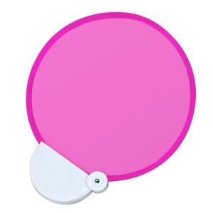 ノベルティ 記念品 フォールディングファンカラーズ(在庫品)(ピンク)  卸売り/まとめ売り|soshina