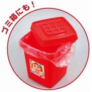 ノベルティ 記念品 おかたづけボックス赤 ※個人宅配送不可  まとめ買い/卸売り|soshina