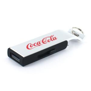 ノベルティ/名入れ向けUSBメモリ 4GB Pop 「名入代込み 両面4色シルク」  8GB以上は別途お見積り  卸売り/もらって嬉しいに! soshina