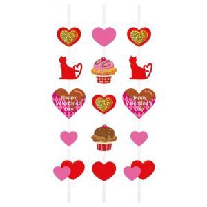 ノベルティ 記念品 [店舗装飾品]キャットスイーツバレンタイン コード3本セット  店頭飾り/春|soshina