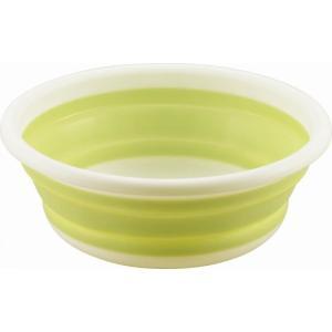 ノベルティ/販促品/景品向けおりたたみ式洗い桶 丸型 33cm (購入単位:5個〜) キッチン/便利/主婦に!|soshina