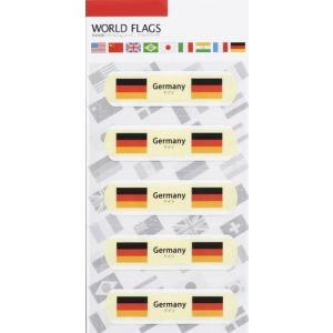 販促品/ノベルティ/名入れ向け国旗の絆創膏ワールド フラッグスC-ドイツ (購入単位:400個〜)配布用/安い/低単価に!|soshina
