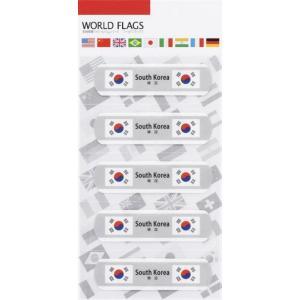 名入れ/ノベルティ/販促品向け国旗の絆創膏ワールド フラッグスC-韓国 (購入単位:400個〜)プリント/安価/卸売りに!|soshina