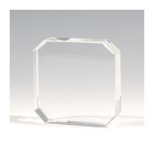ノベルティ 記念品 [2D・3Dレーザー加工代込] ペーパーウエイト ※別途版代  soshina