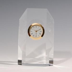 ノベルティ 記念品 [2D・3Dレーザー加工代込] 時計付き ※別途版代  soshina