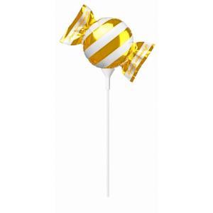 イベント/販促品/ノベルティ向けプレミアムキャンディミニ ゴールド スティック (購入単位:10個〜)まとめ売り/卸売り/まとめ買いに!|soshina