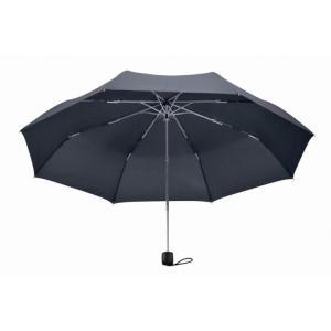 【粗品 記念品】大判耐風UV折りたたみ傘 ネイビー  安価/開店記念に!|soshina