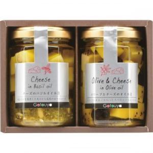 缶詰・瓶詰カテゴリのチーズのオリーブオイル漬けおつまみセット...