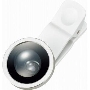 名入れ/ノベルティ/記念品向けモバイルカメラレンズ スーパーワイド ver.2 ホワイト (購入単位:100個〜)短納期/まとめ売り/卸売りに!|soshina