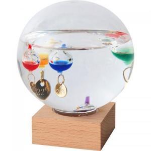 名入れ/ノベルティ/ギフト向けガラスフロート温度計 ドーム(大) (購入単位:1個〜) 見積もり/卒業/名入れ対応に!|soshina