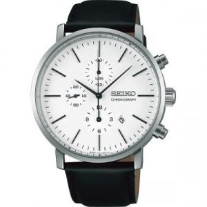 名入れ/ノベルティ/ギフト向けセイコー メンズ腕時計 クロノグラフ (購入単位:1個〜) 周年記念/勤続記念/名入れ対応に! soshina
