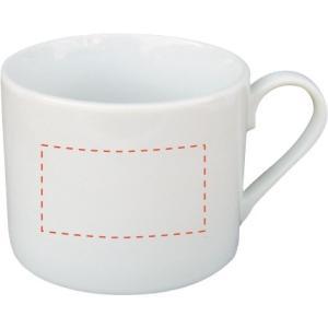 ノベルティ 記念品 カプチーノマグ  オリジナル印刷/名入れ陶器|soshina