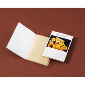 粗品/ノベルティ/名入れ向けノベルティ向けあぶらとり紙(茶紙) クマのおやこP 50枚入 750個セット (購入単位:1個〜)ばらまき/低単価/安価に!|soshina