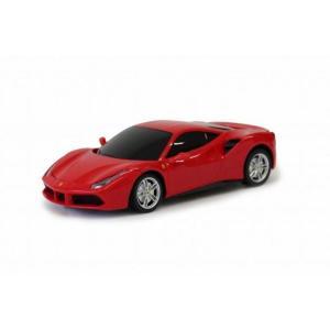【粗品 記念品】 Ferrari 488 GTB RCカー 1/24スケール / ラジコンカーレッド  まとめ買い/卸売りに!|soshina