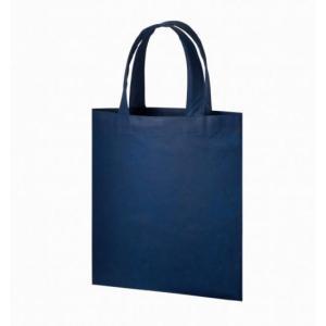 名入れ/ノベルティ/粗品向け不織布A4フラットトート ディープブルー (購入単位:400個〜)エコ/低単価まとめ買い/卸売りに!