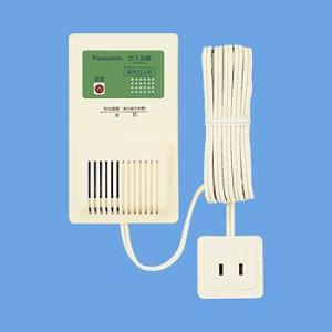 SH12918 ガス漏れ警報器 パナソニック電工 ガス当番 都市ガス用 AC100Vコード式 移報接点なし(テストガス別) [ SH12918 ]