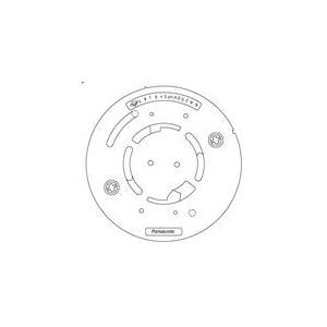 SH5901 パナソニック ガス警報器 ガス当番 丸型ベース(4端子・制御端子付) [ SH5901 ]|soshiyaru