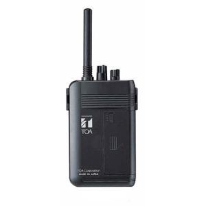 WM-1100 TOA 300MHz帯 ワイヤレスガイドシステム 携帯型送信器(ツーピース型) [ WM1100 ]|soshiyaru