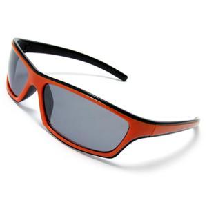 uxcell レディースサングラス アイウェア オレンジ色の枠 ファッション 女性用|soten2