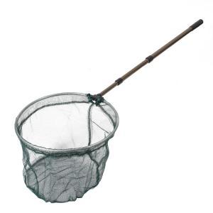 uxcell リトラクタブル ランディング 漁網 ハンドル ネット 軽量 ブラック シルバートーン soten2
