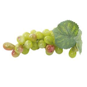 uxcell ブドウの装飾 ブドウ形アクセサリ フルーツアクセサリ 人工フルーツ プラスチック製 軟質プラスチック ブドウフルーツの装飾 グリーンの束|soten2
