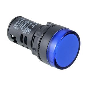 uxcell ブルー LEDパイロット指示灯 信号ランプ 220VAC soten2