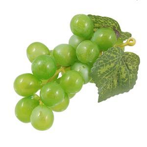 uxcell アーティフィシャルプラスチックブドウ 人工的なプラスチック製ブドウ 飾り物 グリーン|soten2