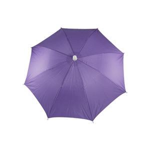 uxcell 釣り傘 傘帽子 釣り用 ヘッドバンド アウトドアスポーツ 釣り パープル雨、日除け帽子傘|soten2