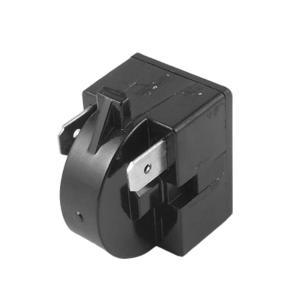 uxcell 冷蔵庫用 プラスチックケース22オーム PTCスタータリレー 黒い 高品質 予備部品 家庭用品 soten2