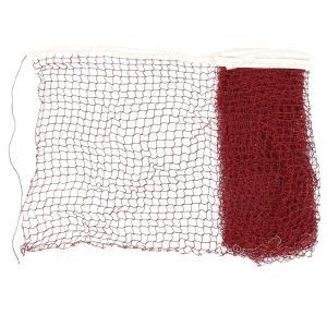 uxcell バドミントンネット トリム編みネット こみメッシュバドミントントレーニングネット ナイロン ブルゴーニュホワイト|soten2