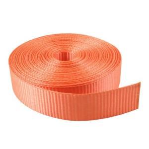 uxcell ウェビング オレンジ ナイロン 10M長い ナイロンストラップ 2.7cm厚い|soten2