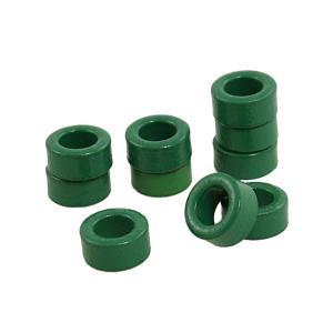 商品名:丸型フェライト磁石 材料:金属 カラー: グリーン サイズ:10 x 6 x 5cm(外径*...