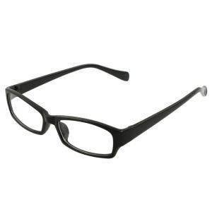 uxcell ユニセックス フレーム クリアレンズ 眼鏡 平野プラノ メガネ|soten2