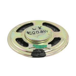 uxcell マグネットスピーカー 磁石スピーカー ラウンド インターナル36mm径 アルミシェル 8 Ohm 0.5W|soten2