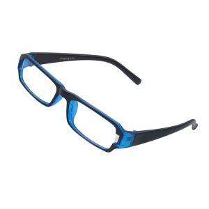 uxcell メガネ 光学ガラス フルフレーム 長方形 プレーン プラノ レディ|soten2