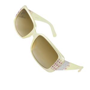 uxcell サングラス ファッション小物 材料ウエート 女性 クリアーブラウンレンズ ワイドテンプル|soten2