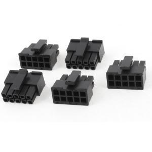 uxcell ATXコネクタ 10ピン 3mm ピッチ スロット PC電源ユニット 電源 コネクタ ブラック|soten2
