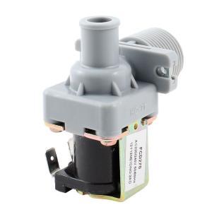 uxcell 水入口電磁弁 プラスチック製グレーブラック洗濯機用 バスルームウェア AC 220V / 240V|soten2