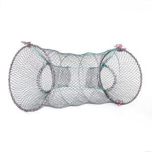 uxcell 釣りネット エビネット 魚籠 魚捕り網かご 釣りカゴ 折り畳み網 網籠 釣具 釣り用品 捕獲ネット 収納 網細工 釣り愛好家 soten2