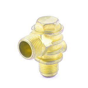 uxcell チェックバルブ 空気圧縮機の逆止弁 ブラス soten2