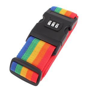 uxcell スーツケースベルト 荷物ストラップ 荷物ベルト バックル スーツケース用 スーツケースベルト 荷物ベルト リリースバックル パスワード 5cm幅 3桁|soten2