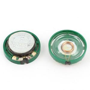 uxcell マグネットスピーカー 電子スピーカー ラウンドプラスチックシェル 0.25W 8Ohm 21mm 2個入り|soten2