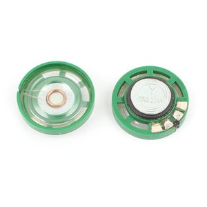 uxcell 1/4W 0.25W 8オーム 27mm ラウンド外部磁石スピーカースピーカー マグネットスピーカー 2個|soten2