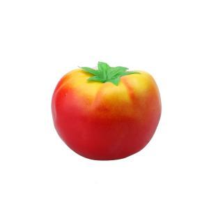 uxcell 食品サンプル 人工 のトマト野菜装飾 人工野菜 赤色 発泡材 78 x 57mm 67g|soten2