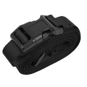 uxcell スーツケースベルト 荷物ストラップ ベルト バックル スーツケース用 バックパック サイドリリース アジャスタブル パッキングストラップ|soten2