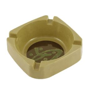 uxcell 灰皿 タバコ シガレット タバコホルダー プラスチック ホーム 正方形 グリーン soten2