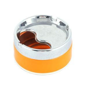 uxcell 灰皿 タバコ灰ケース オーガナイザー 9 x 4.5cm アッシュコンテナ オレンジ 1個入り soten2