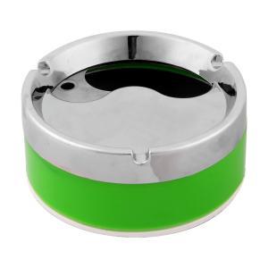 uxcell 灰皿 スモークケース 灰ホルダー 事務室 シリンダー クリーンツール グリーン soten2